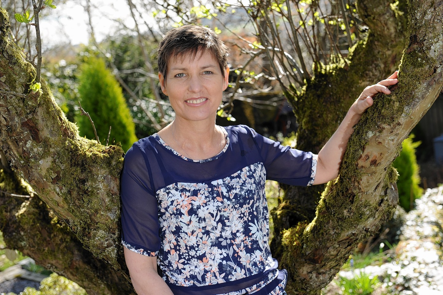 Lisa Stratford has incurable bowel cancer.  Picture by Kenny Elrick