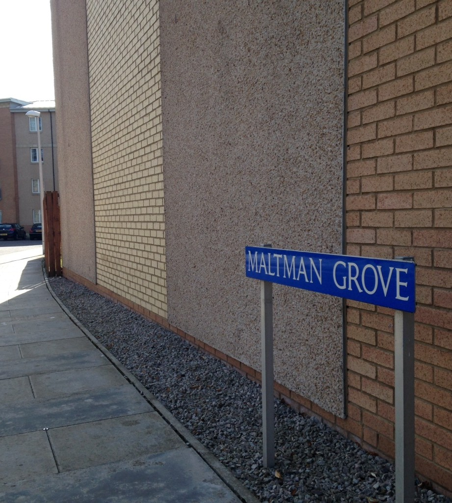 Police made the discovery at Maltman Grove in Aberdeen