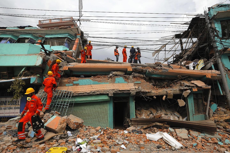 The earthquake cause devastation across Nepal