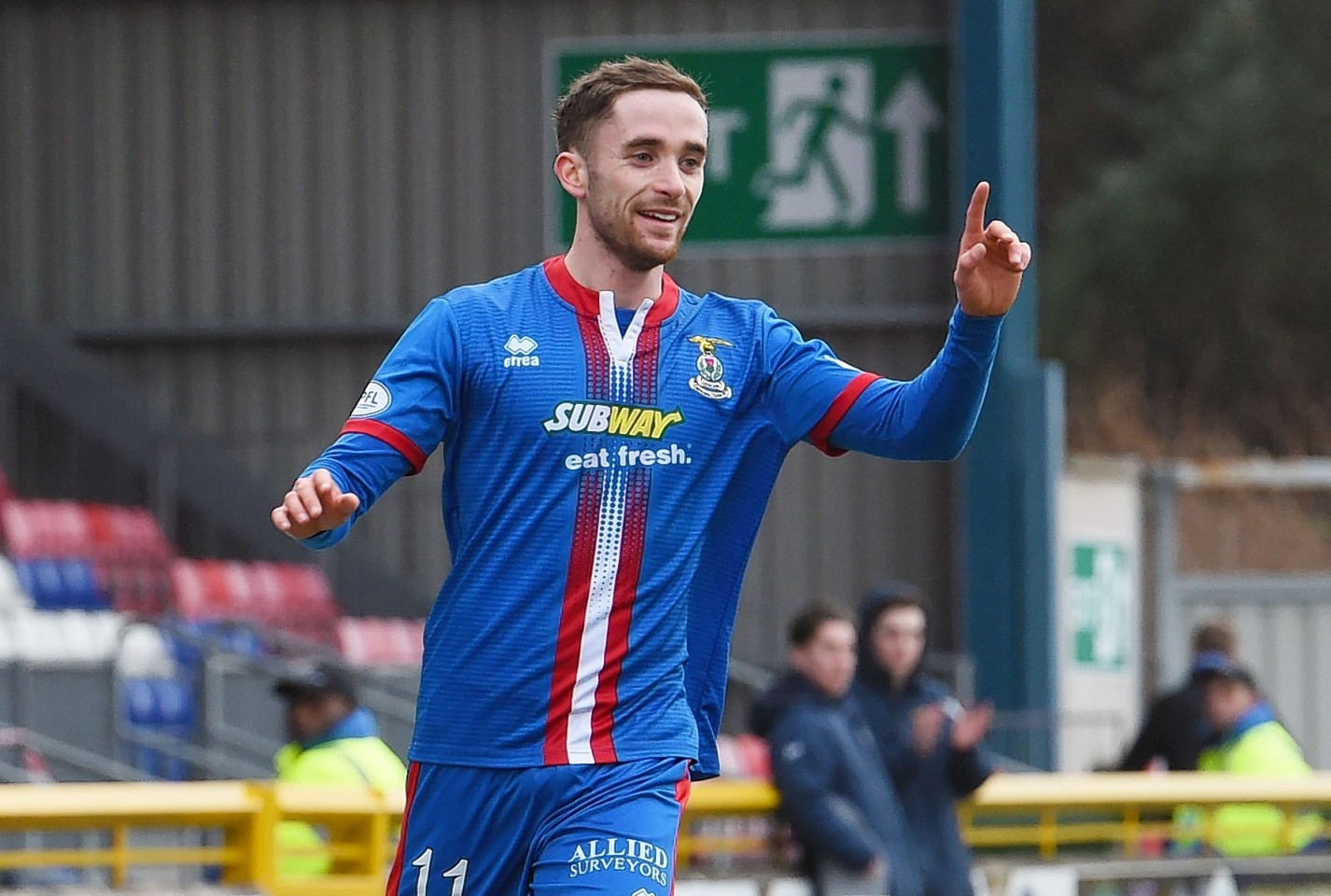 Former Caley Thistle midfielder Nick Ross