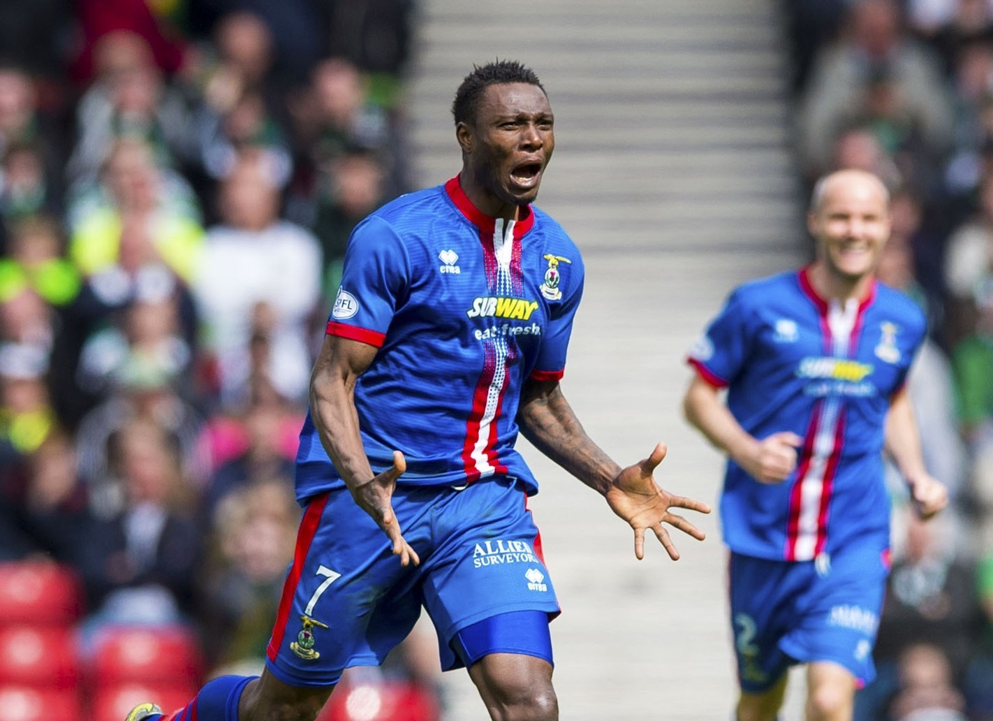 Could Edward Ofere return to Caley Thistle?