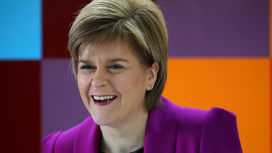 Nicola Sturgeon has said SNP MPs will be a strong, positive voice for the people of Scotland