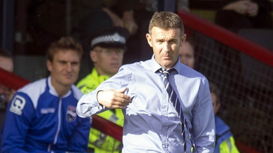 Jim McIntyre says Ross County must show belief at Victoria Park.