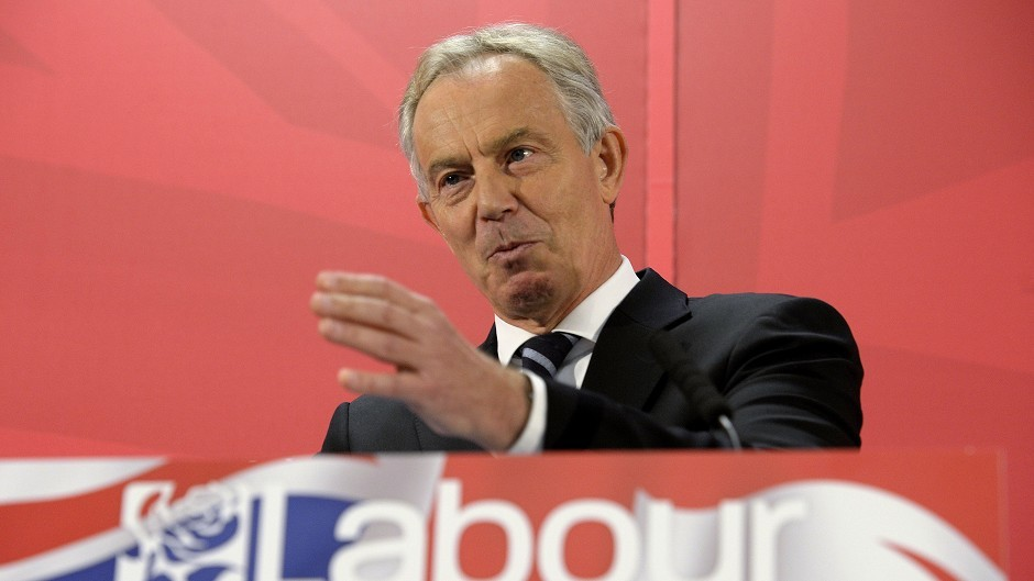 Tony Blair described last September's independence referendum as a 'near-death experience' for the UK