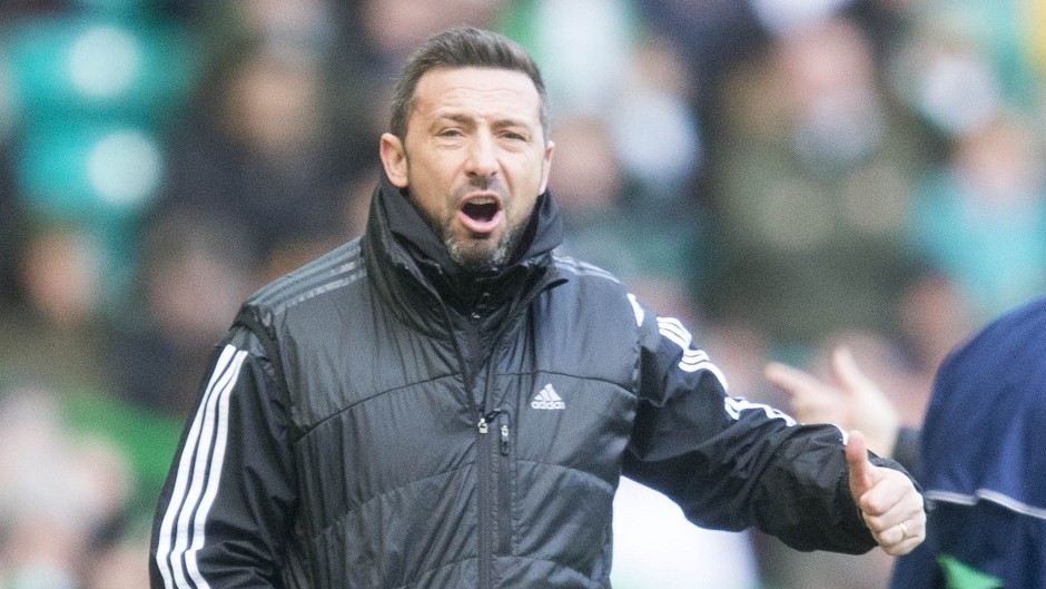 Derek McInnes told his players to be proud of their points haul