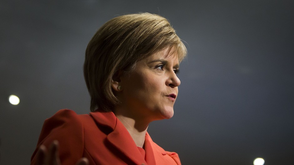 Nicola Sturgeon said that a 'strong team' of SNP MPs in the Commons would use their influence to try to win a better deal for businesses
