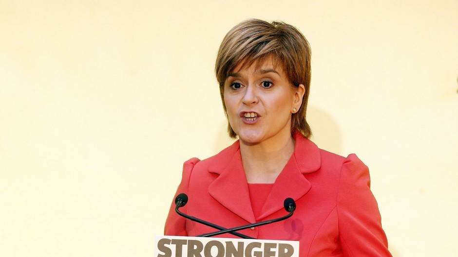Nicola Sturgeon said Labour in Scotland need to back the SNP's plans on the health service