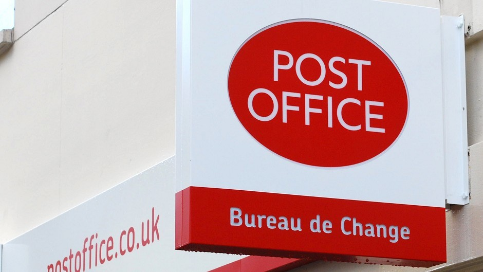 The Huntly Post Office has been closed down