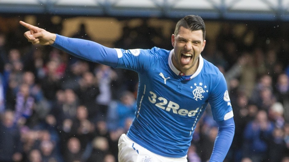 Playmaker Haris Vuckic became a fans favourite at Ibrox but will not be making a return