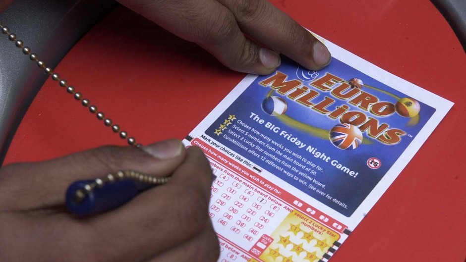 A EuroMillions jackpot prize of £93million has been won by a UK ticket-holder