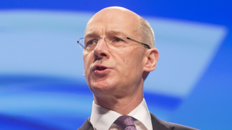 Deputy First Minister John Swinney said the IFS report was based on flawed assumptions.
