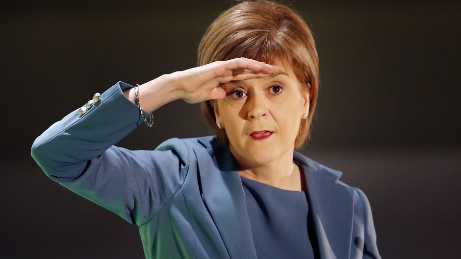 Nicola Sturgeon says she does not see a second referendum on the horizon.