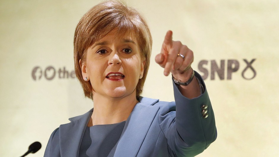 Nicola Sturgeon insisted  Labour will have no choice but to deal with SNP in a hung parliament.