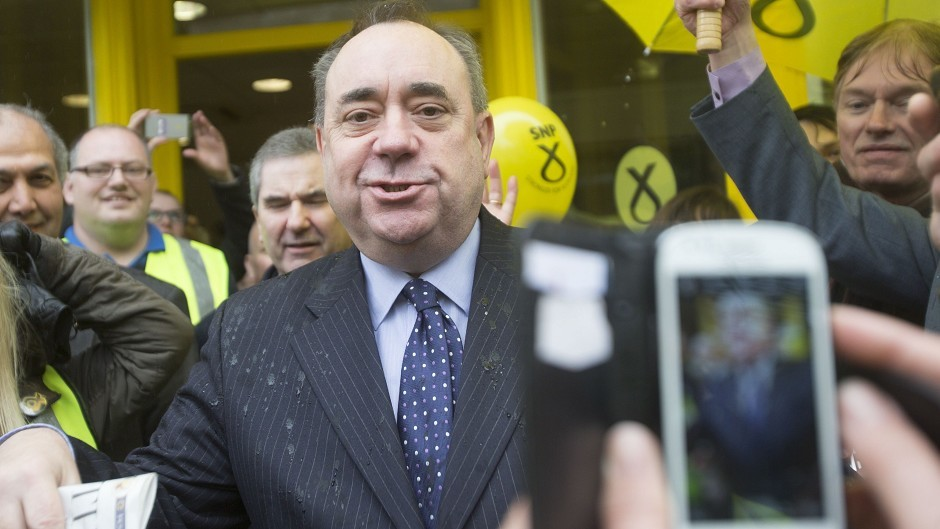 Farage says former First Minister Alex Salmond is to blame for the 'racism within the SNP'