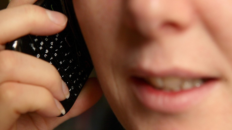 Police have warned people to be on their guard for any cold-callers requesting bank account details