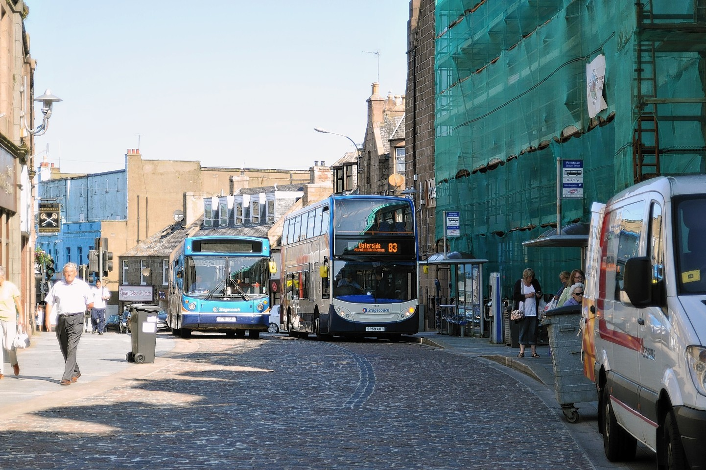 Chapel Street, which is set to be re-opened to traffic