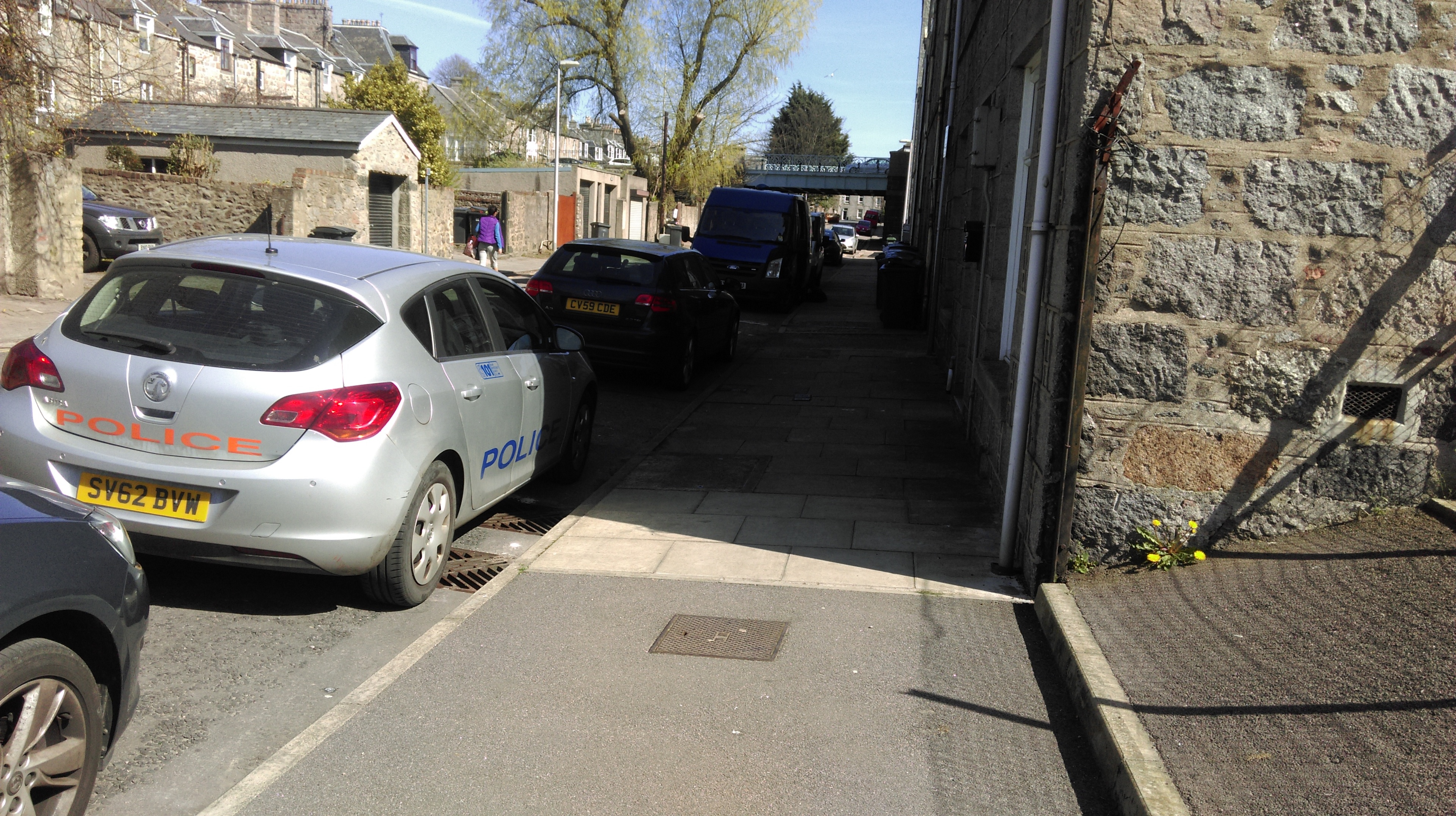 Police are investigating the chemicals on two different Aberdeen streets