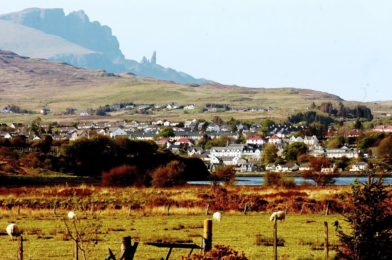 The Quiraing, on Skye.