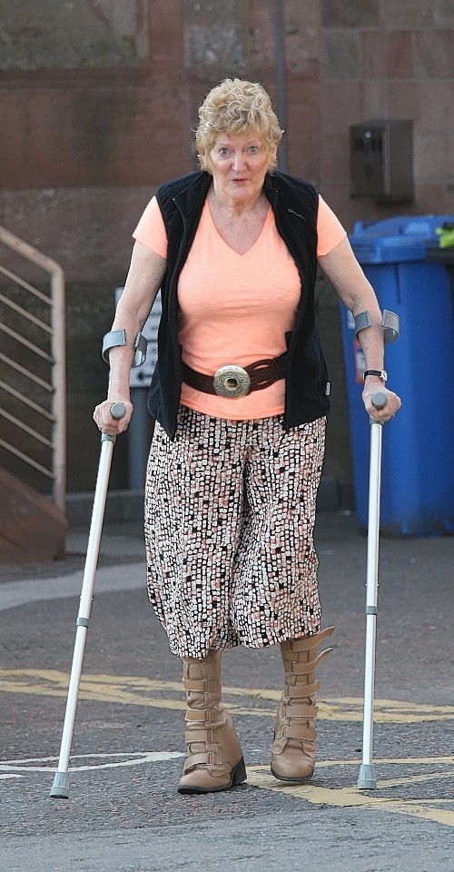 Ruth Keighley was left disabled after A9 crash