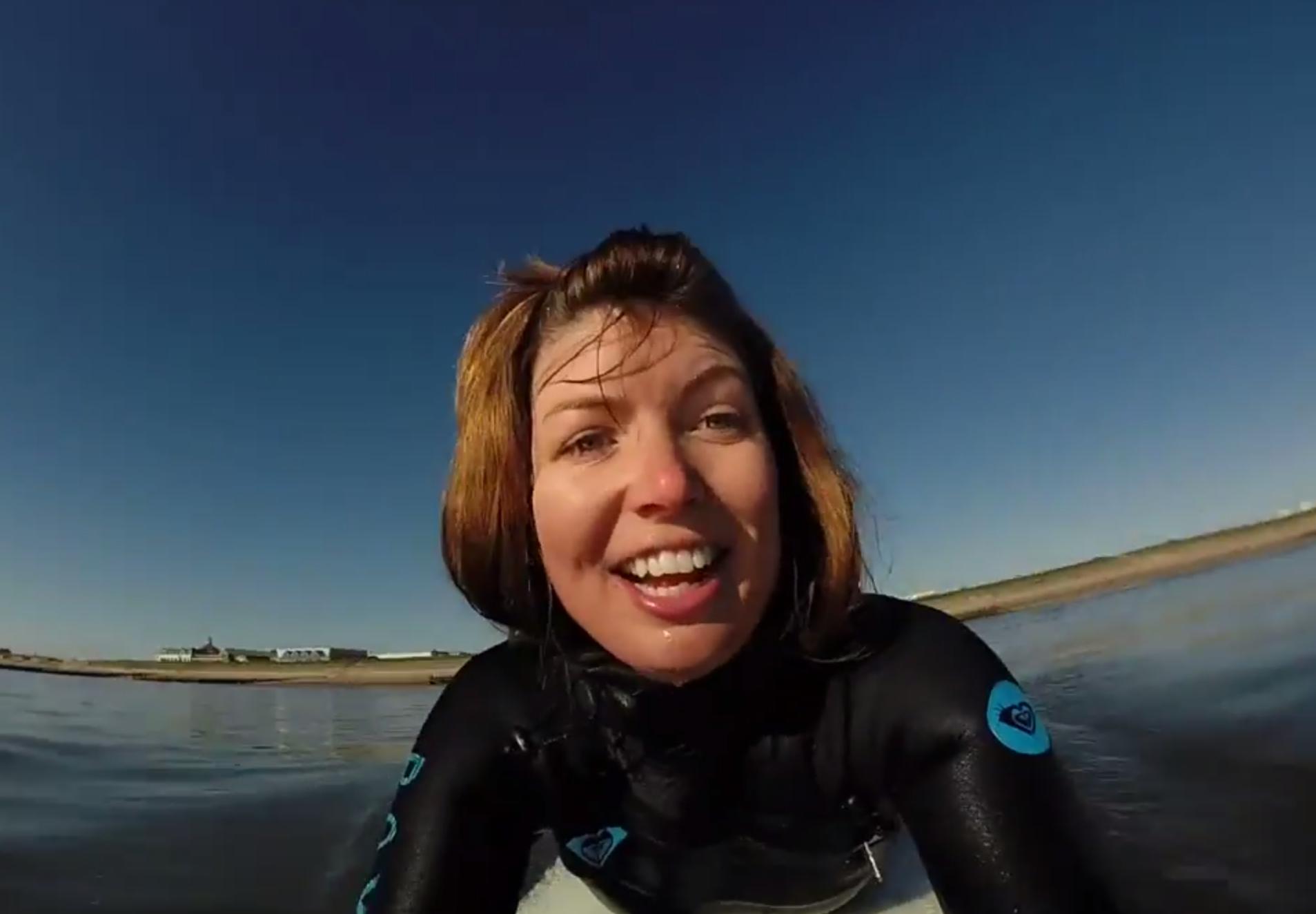 Aberdeen surfer Katie Watson