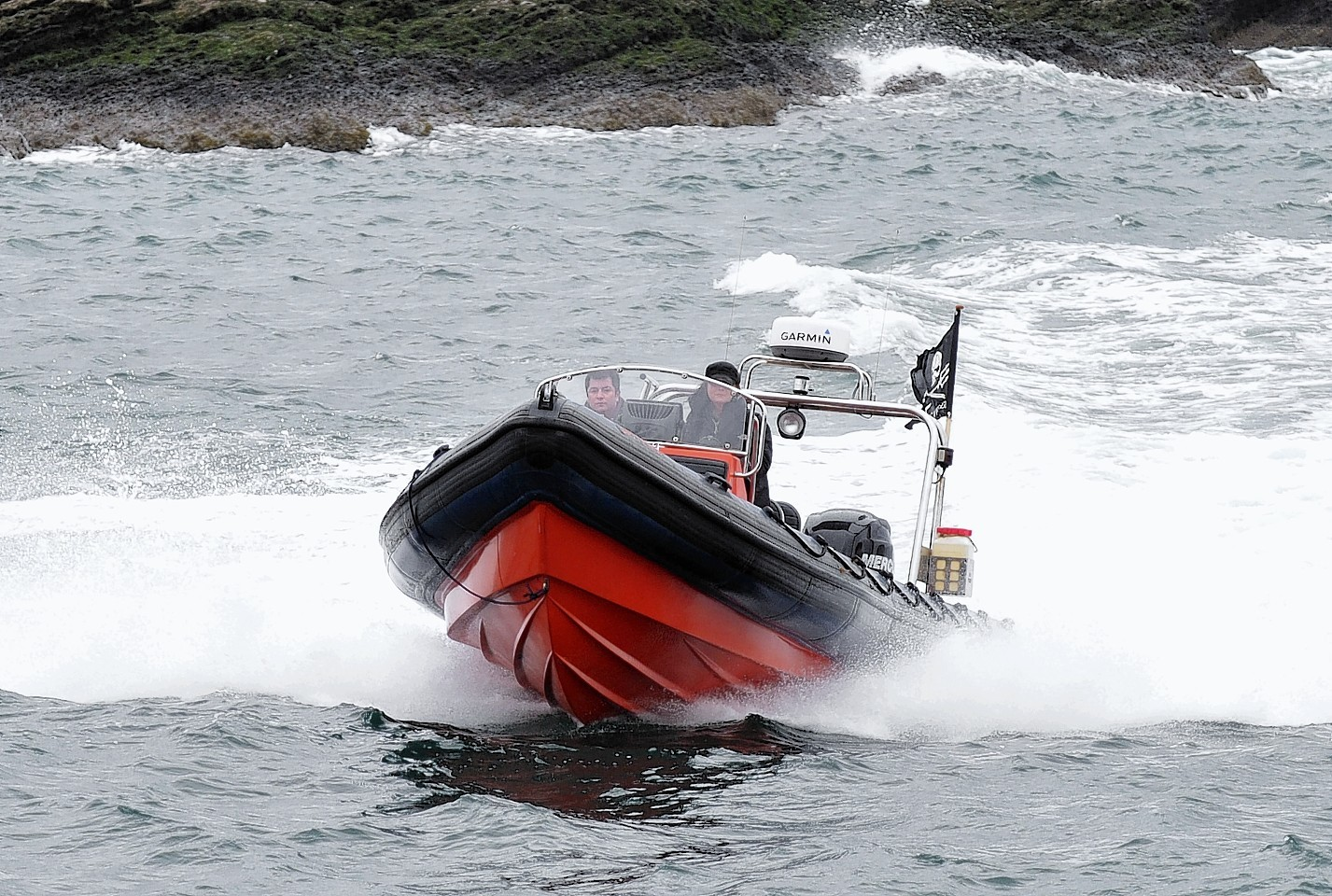 The Sea Shepherd seal defence team recovered the body of the shot seal