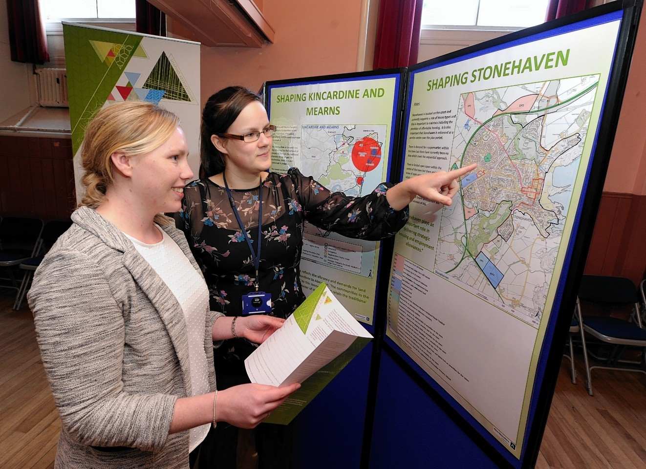 Residents of Stonehaven and the Mearns are getting the chance to view proposal