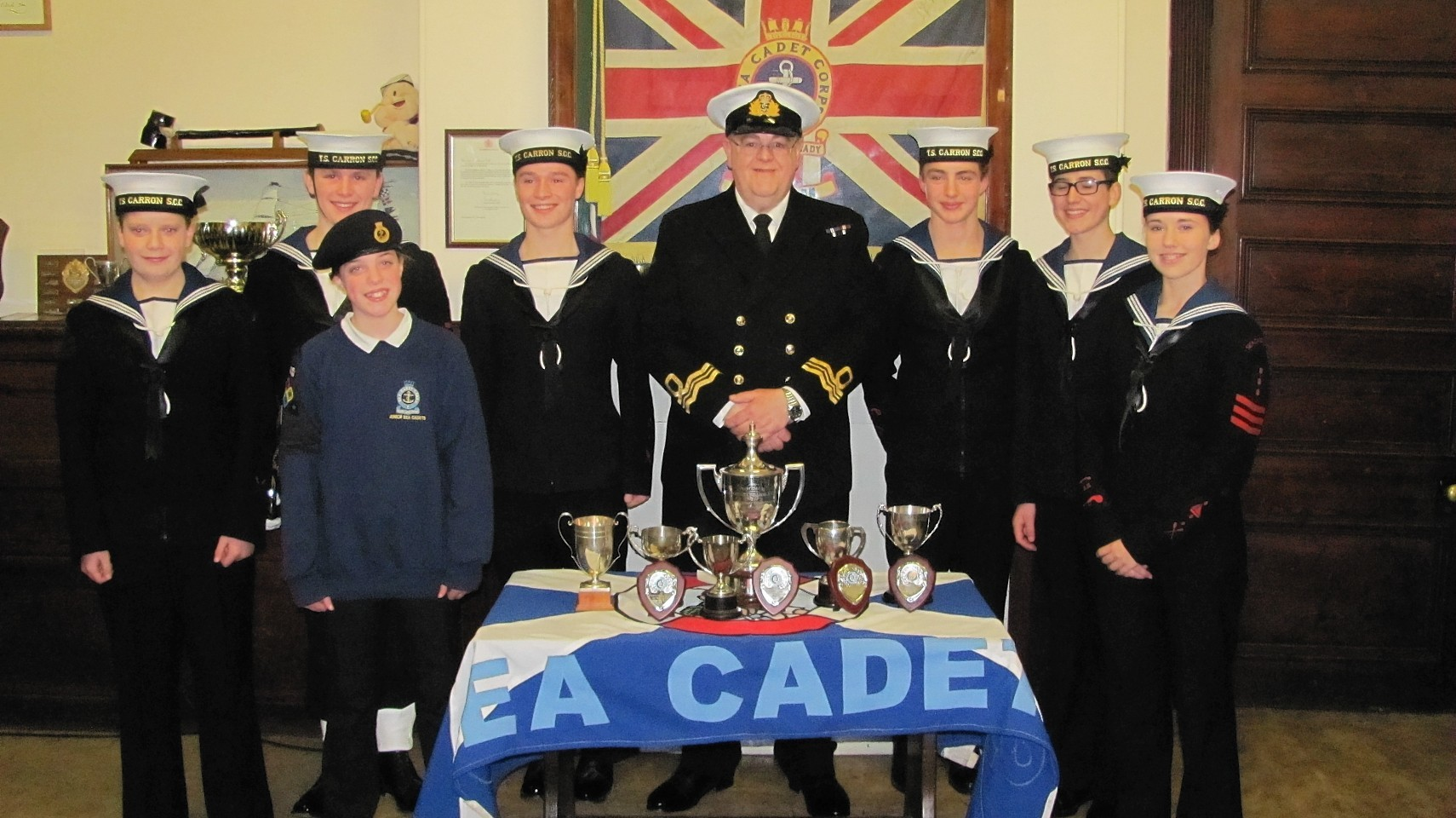 Stonehaven Sea Cadets have applied for £3,632