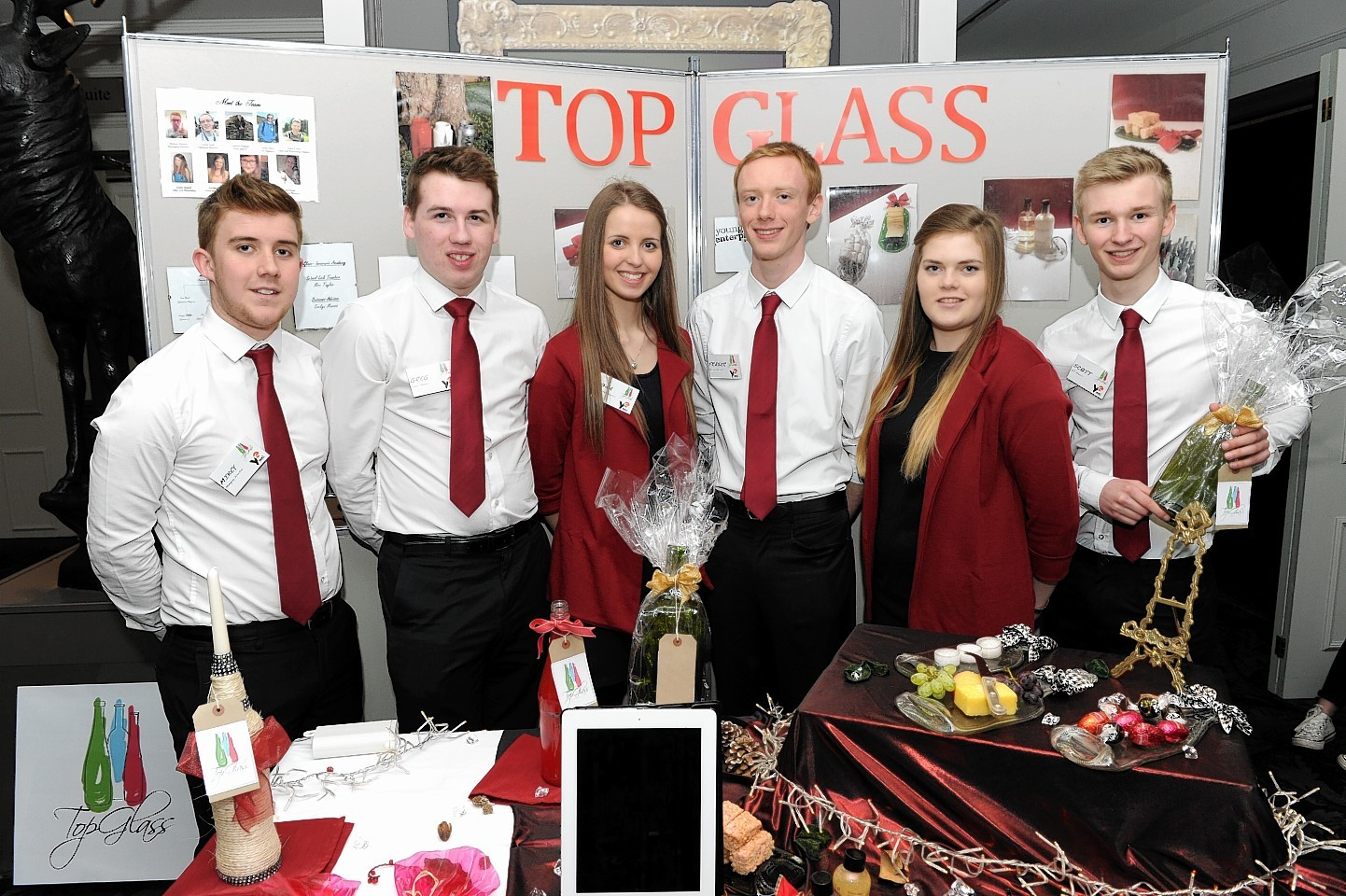 Inverurie Academy was also represented in  the YEG finals last year