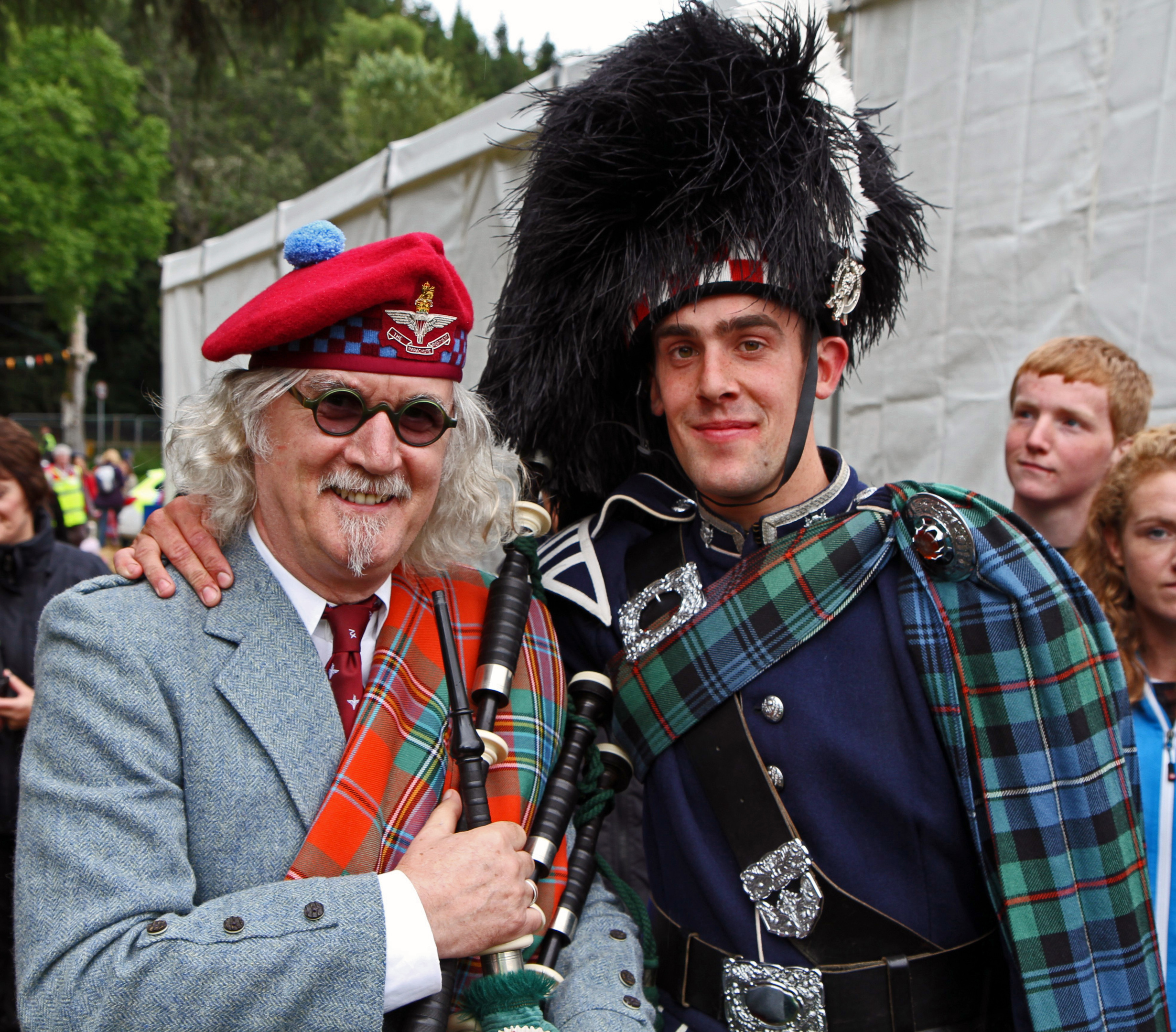 Dougie Kay, who pipes for the Ballater Pipe Band and the Buchan Peterson Grade Two Champion Pipe Band, was in Kathmandu when the earthquake hit.