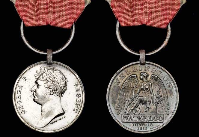 The 200 year old medal that will go under the hammer in London