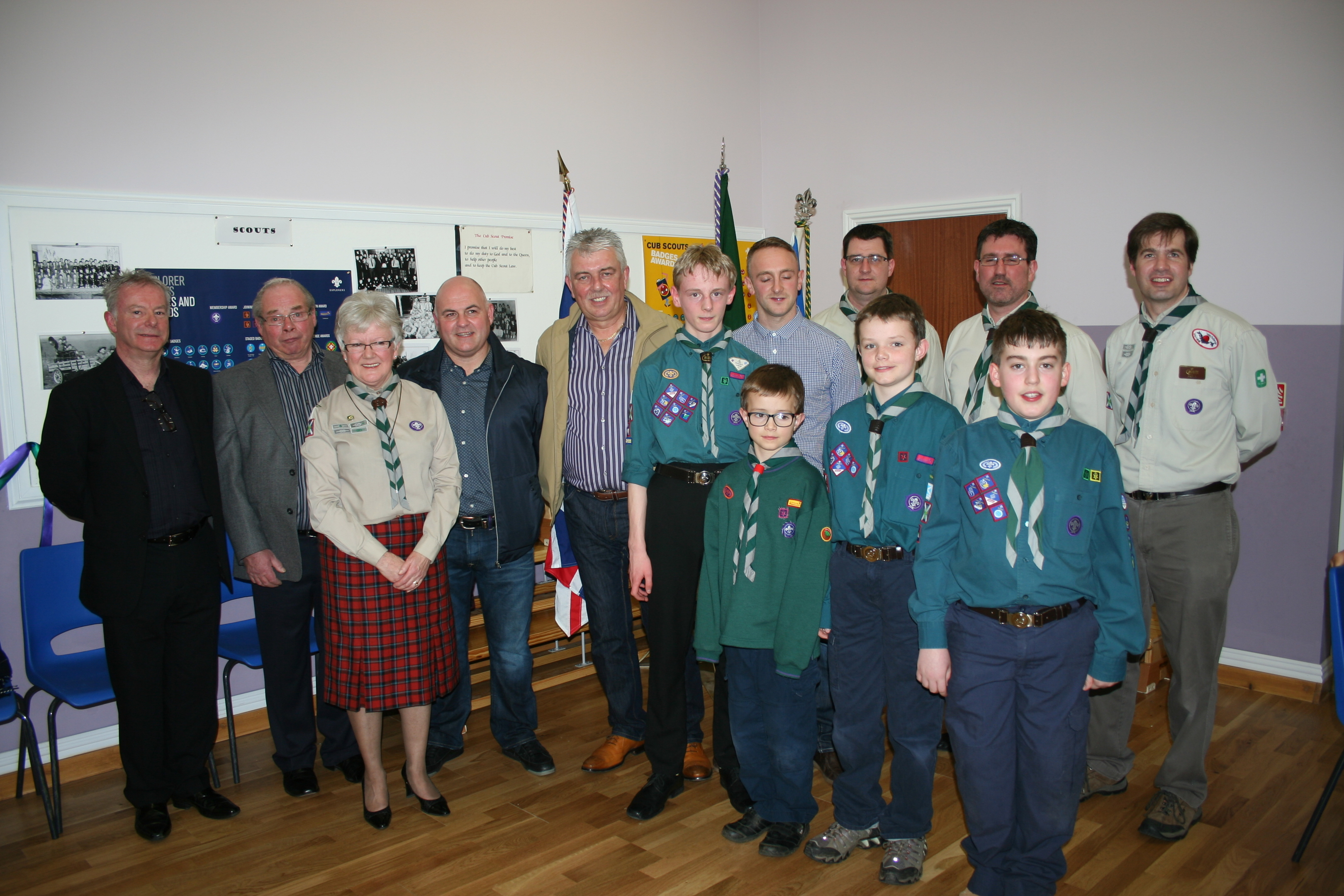 The Scout Hall in Inverbervie has been renovated