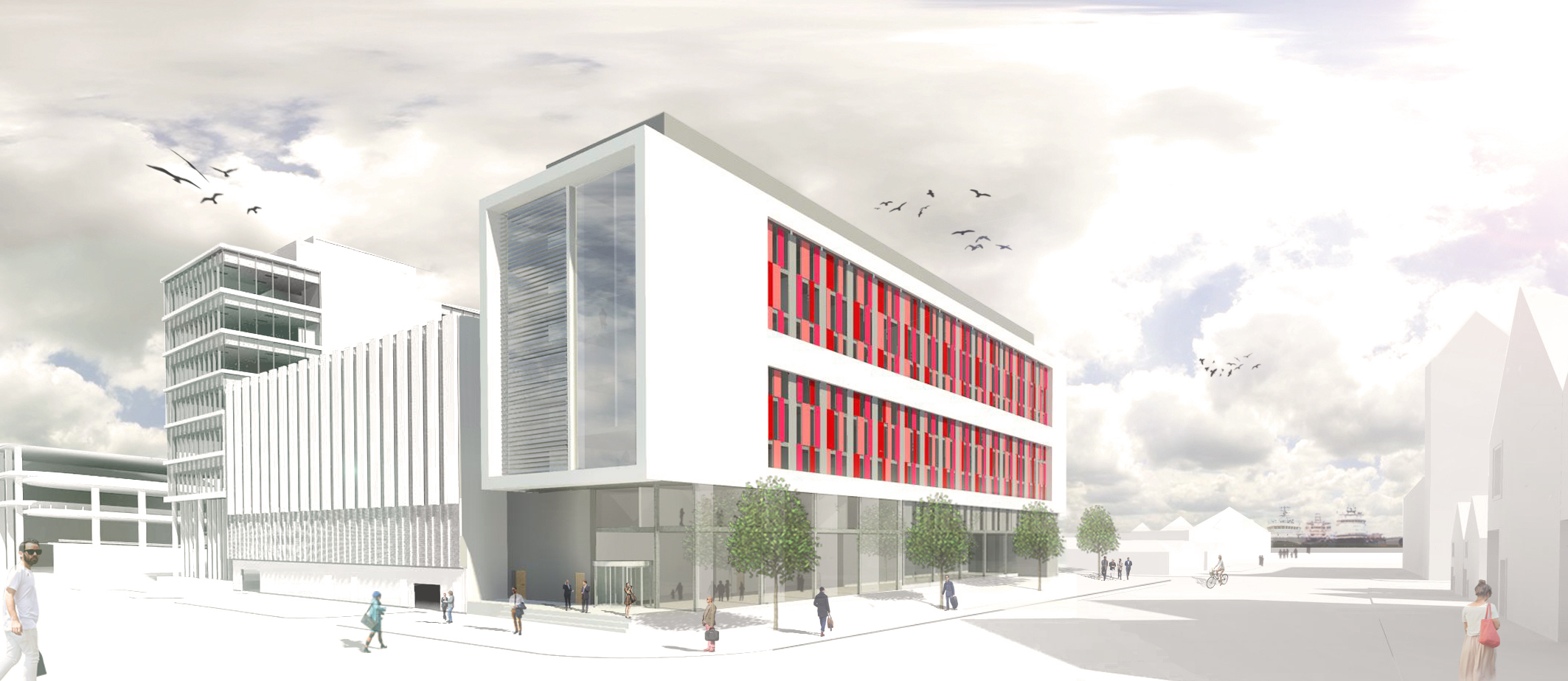 How the new hotel will look if Drum's plans are approved