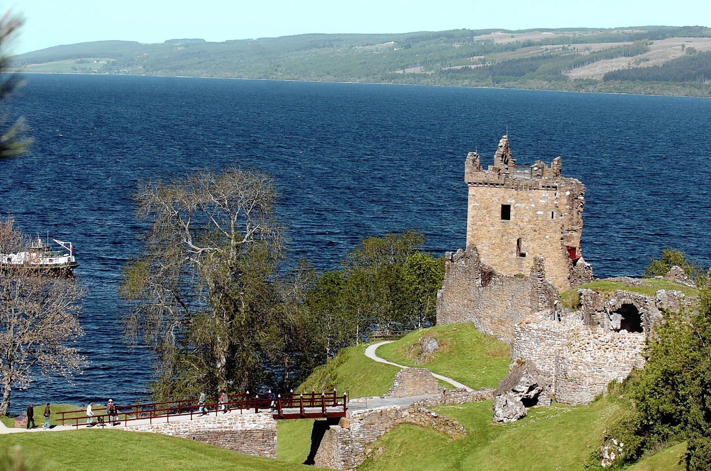 Urquhart Castle. Picture by Sandy McCook.