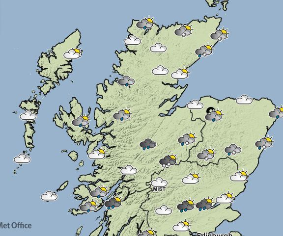 Easter weekend will be cloudy for much of the north and north-east