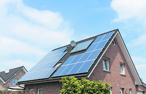 Solar panels can help you cut your energy bills and CO2 emissions