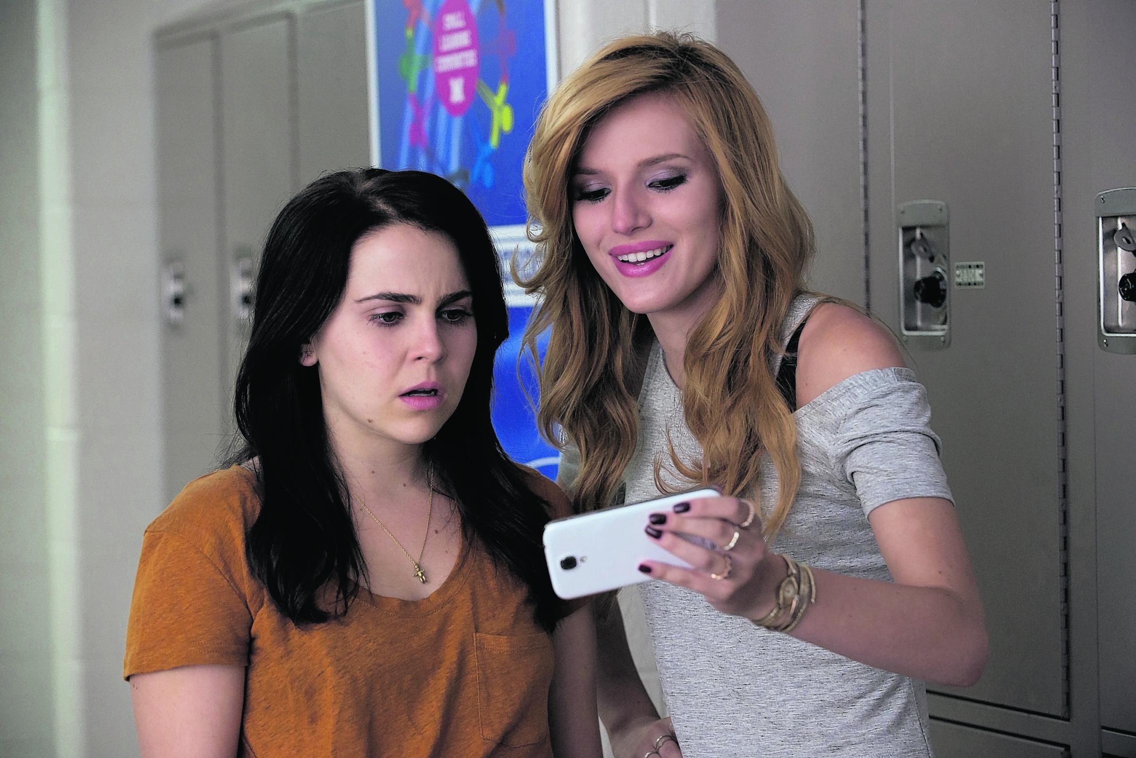 Mae Whitman as Bianca Piper and Bella Thorne as Madison Morgan.