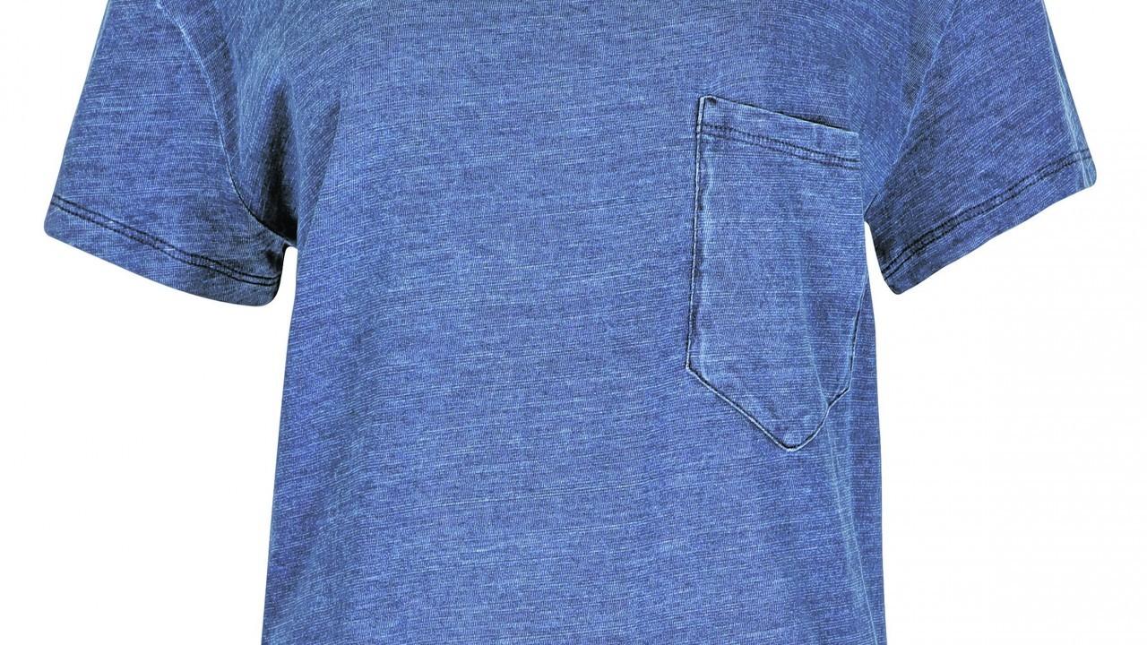 Limited Edition Single Breast Pocket Denim T-shirt, £17.50 (www.marksandspencer.com)