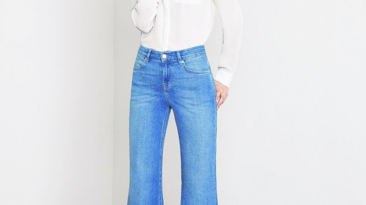 Ida Adelaide Flare Jeans, £165 (www.donnaida.com)