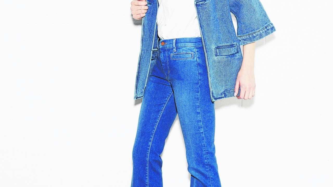 Denim Kimono Jacket, £385; T3 shirt, £190; Marrakesh Nico Jean, £185 (www.mih-jeans.com)Marrakesh Nico Jean, mih-jeans.com.