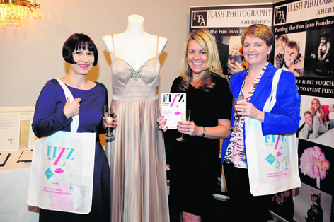 Karen Tyerman, Lisa Duthie and Edel Harris at Cornerstone Fizz Friday