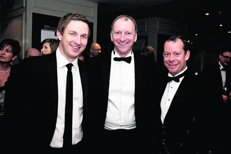 Derren McRae, Graham Cantley and Graeme Nisbet