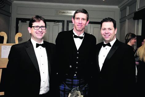 Stephen Barker, Gareth Still and David Halliday