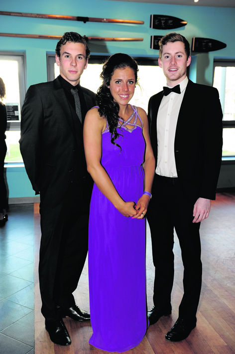 Mark Campbell, Kirsty Simpson and Stuart McIntosh
