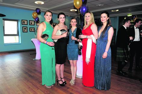 Lisa Garden, Siobhan Cowie, Scout Adkin, Rebecca Lovie and Gabrielle Buckley