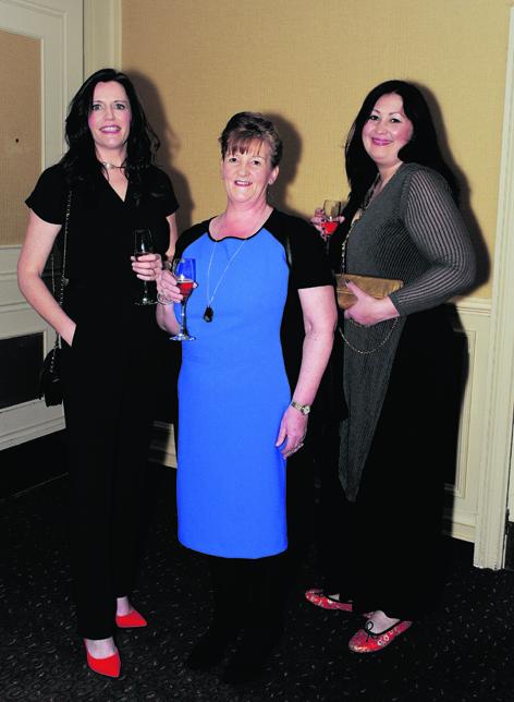 Martina Fleming, Lorraine Stephen and Ruth Ayaahudin