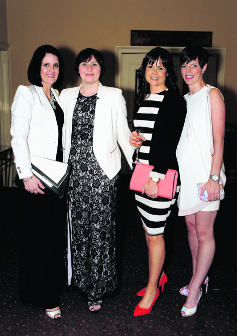 Helen Norrie, Debbie Wright, Laura Macdonald and Laura McConnachie