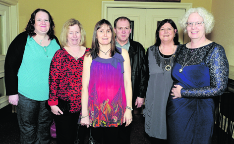 Lisa Scott, Fiona Donald, Susan Forsyth, George Ross, Ann McMurray and Marion Currie