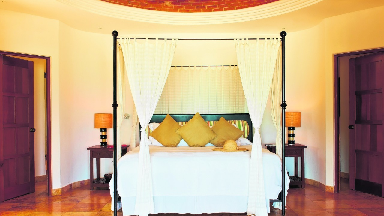 A suite at the Belmond Maroma Resort