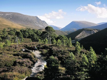 Lairig Ghru in the Cairngorms