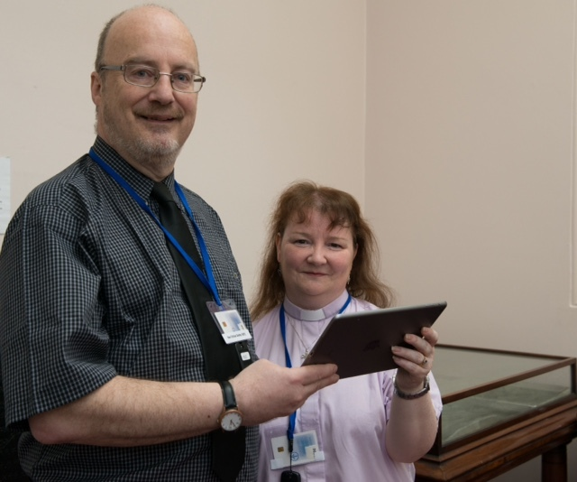 General Assembly of The Church of Scotland 2015; Friday 22nd of May 2015: Husband and wife Rev Brian and Deborah Dobby from Shetland.